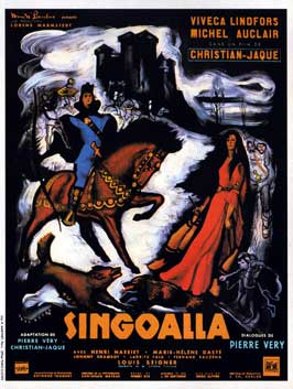 Singoalla - 11 x 17 Movie Poster - French Style A