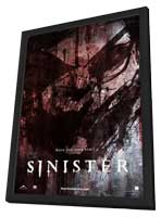 Sinister - 27 x 40 Movie Poster - Style B - in Deluxe Wood Frame