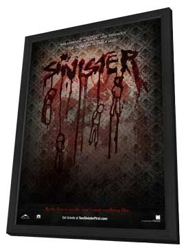 Sinister - 11 x 17 Movie Poster - Style A - in Deluxe Wood Frame