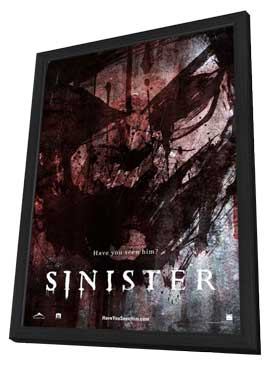 Sinister - 11 x 17 Movie Poster - Style B - in Deluxe Wood Frame