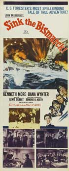 Sink the Bismarck! - 14 x 36 Movie Poster - Insert Style A