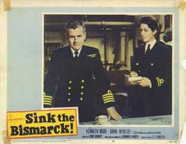 Sink the Bismarck - 11 x 14 Movie Poster - Style H