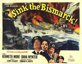 Sink the Bismarck - 22 x 28 Movie Poster - Half Sheet Style A