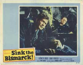 Sink the Bismarck - 11 x 14 Movie Poster - Style B