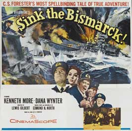 Sink the Bismarck - 22 x 28 Movie Poster - Half Sheet Style B