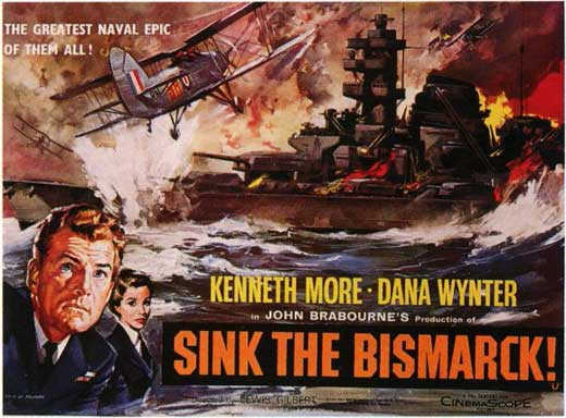 sink the bismarck movie posters from movie poster shop