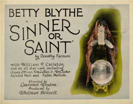 Sinner or Saint - 27 x 40 Movie Poster - Style A