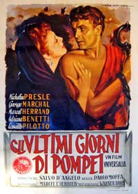 Sins of Pompeii - 11 x 17 Movie Poster - Italian Style A