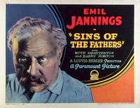 Sins of the Fathers - 11 x 14 Movie Poster - Style A