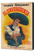 Sinverg�enza, El - 27 x 40 Movie Poster - Spanish Style A - Museum Wrapped Canvas