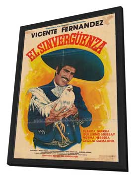 Sinverg�enza, El - 27 x 40 Movie Poster - Spanish Style A - in Deluxe Wood Frame