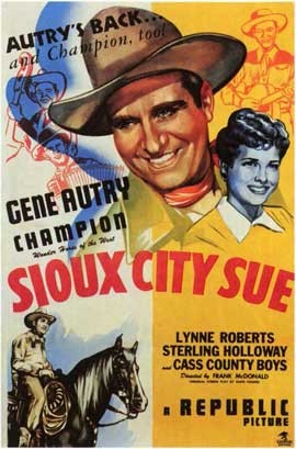 Sioux City Sue - 11 x 17 Movie Poster - Style A