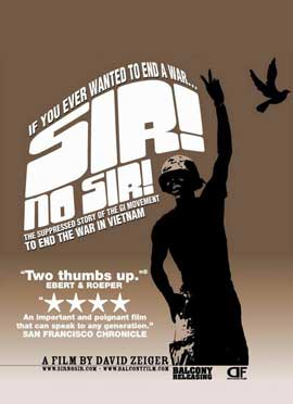 Sir! No Sir! - 11 x 17 Movie Poster - Style A