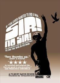 Sir! No Sir! - 43 x 62 Movie Poster - Bus Shelter Style A