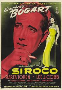 Sirocco - 43 x 62 Movie Poster - Spanish Style A