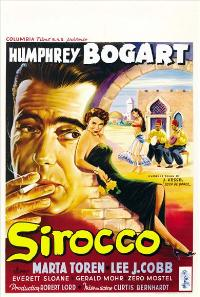 Sirocco - 43 x 62 Movie Poster - Belgian Style A
