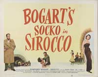 Sirocco - 11 x 17 Movie Poster - Style E