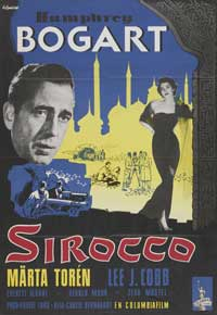 Sirocco - 11 x 17 Movie Poster - Swedish Style A