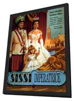 Sissi: The Young Empress - 11 x 17 Movie Poster - German Style A - in Deluxe Wood Frame