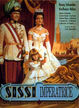 Sissi: The Young Empress - 11 x 17 Movie Poster - German Style A