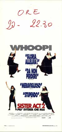 Sister Act 2: Back in the Habit - 13 x 28 Movie Poster - Italian Style A