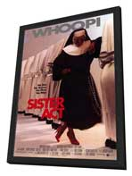 Sister Act - 27 x 40 Movie Poster - Style D - in Deluxe Wood Frame