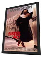 Sister Act - 11 x 17 Movie Poster - Style B - in Deluxe Wood Frame