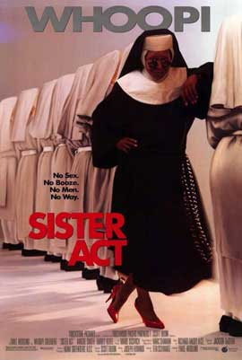 Sister Act - 11 x 17 Movie Poster - Style B