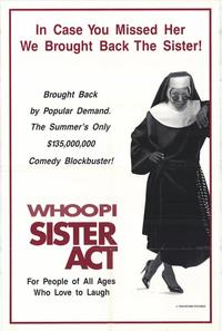Sister Act - 27 x 40 Movie Poster - Style B