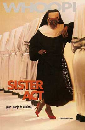 Sister Act - 27 x 40 Movie Poster - Spanish Style A