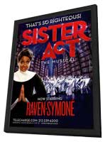 Sister Act the Musical - 11 x 17 TV Poster - Style A - in Deluxe Wood Frame