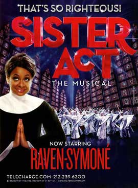 Sister Act the Musical - 11 x 17 TV Poster - Style A