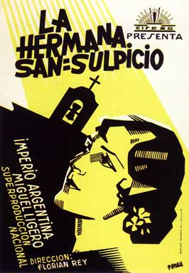 Sister San Sulpicio - 11 x 17 Movie Poster - Spanish Style E