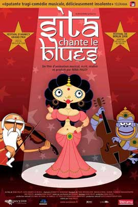 Sita Sings the Blues - 11 x 17 Movie Poster - French Style A