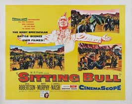 Sitting Bull - 22 x 28 Movie Poster - Half Sheet Style A