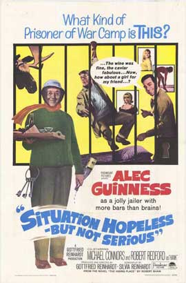 Situation Hopeless but Not Serious - 11 x 17 Movie Poster - Style A
