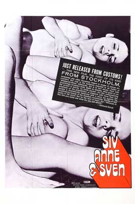 Siv, Anne & Sven - 27 x 40 Movie Poster - Swedish Style A
