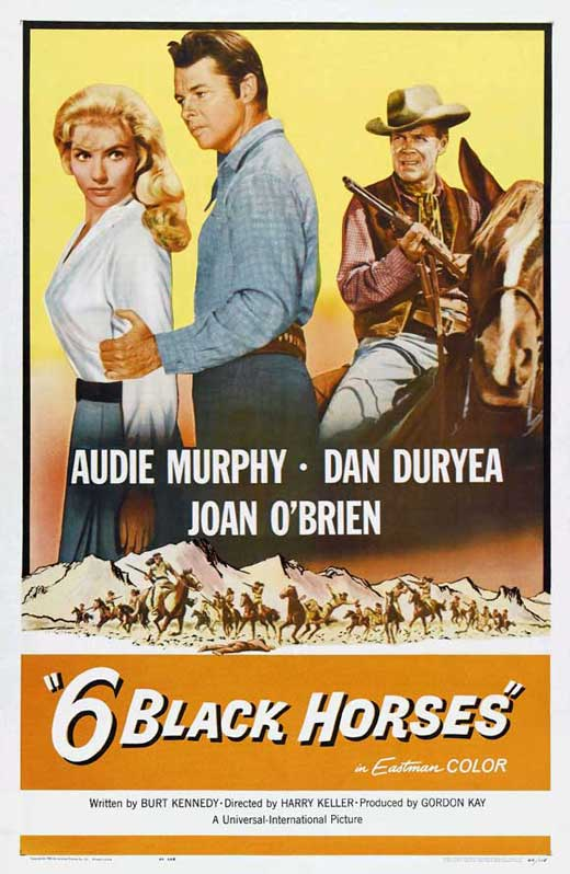 Six Black Horses Movie Posters From Movie Poster Shop