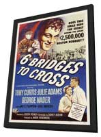 Six Bridges to Cross - 11 x 17 Movie Poster - Style A - in Deluxe Wood Frame