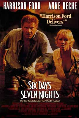 Six Days, Seven Nights - 27 x 40 Movie Poster - Style A