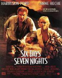 Six Days, Seven Nights - 11 x 17 Movie Poster - Style B