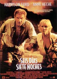 Six Days, Seven Nights - 11 x 17 Movie Poster - Spanish Style A