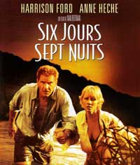 Six Days, Seven Nights - 27 x 40 Movie Poster - French Style A