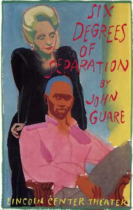 Six Degrees of Separation (Broadway) - 27 x 40 Poster - Style A