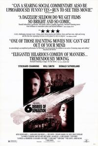 Six Degrees of Separation - 27 x 40 Movie Poster - Style A