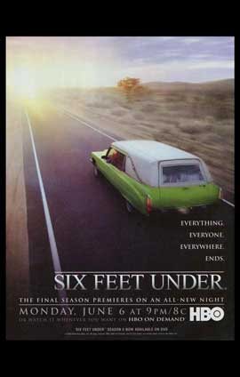 Six Feet Under - 11 x 17 TV Poster - Style F