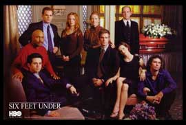 Six Feet Under - 27 x 40 TV Poster - Style D