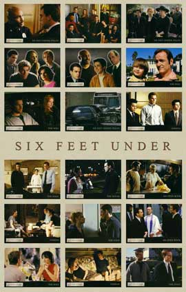 Six Feet Under - 11 x 17 TV Poster - Style H