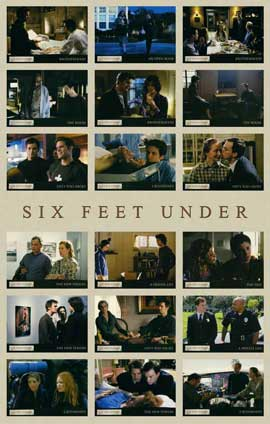 Six Feet Under - 11 x 17 TV Poster - Style I