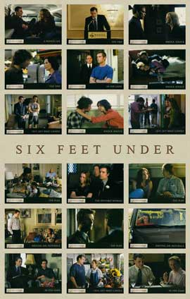 Six Feet Under - 11 x 17 TV Poster - Style J